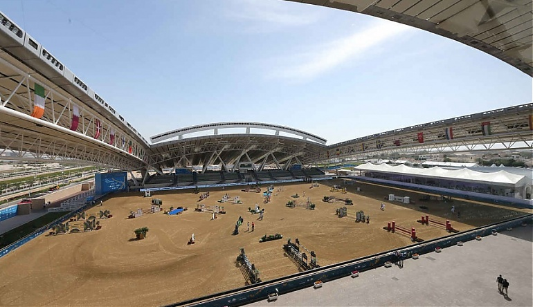 The Grand Tour Season 1 >> AL SHAQAB - A magnificent host for the grand finale - LONGINES GLOBAL CHAMPIONS TOUR