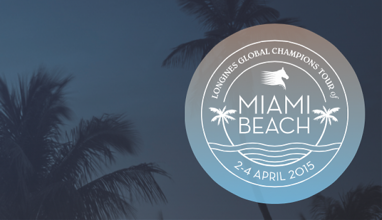 Hotels In Miami Beach >> Longines Global Champions Tour of Miami Beach logo ...