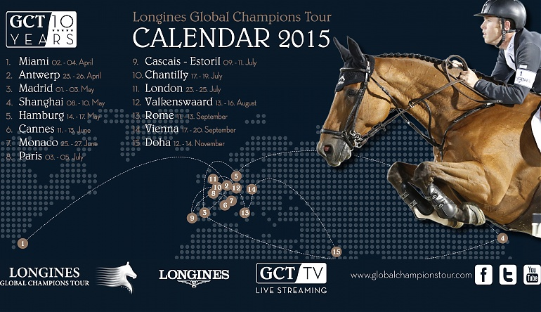 2017 Calendar Released New Events Added In Miami Beach And Rome Longines Global Champions Tour
