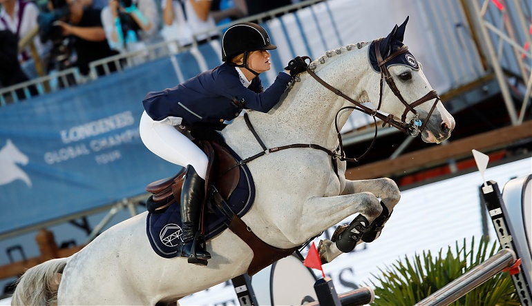 Jennifer Gates Longines Global Champions Tour