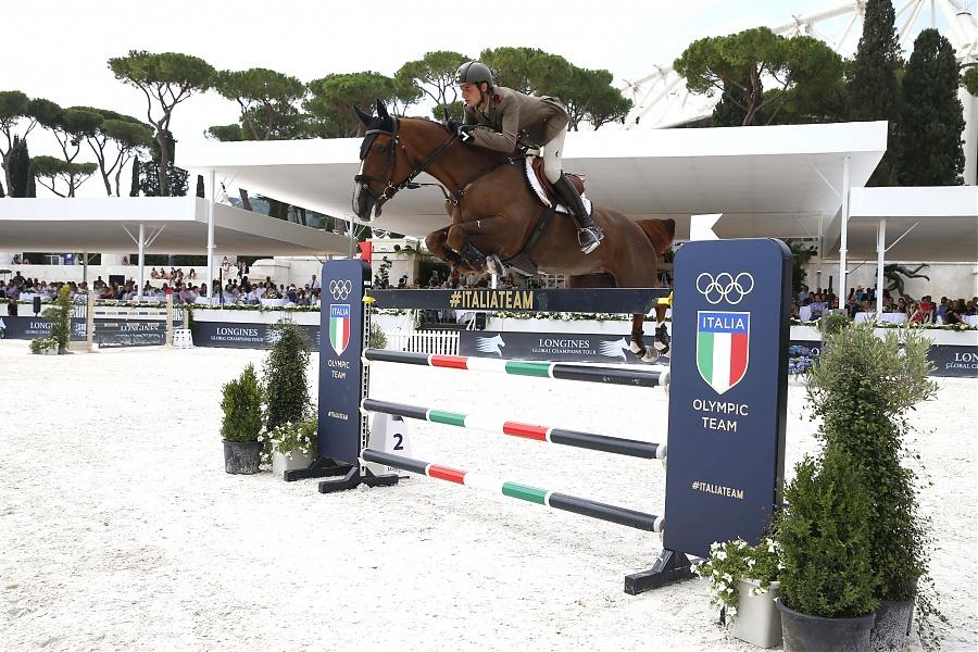 Alberto Zorzi on Fair Light van't Heike LGCT Rome