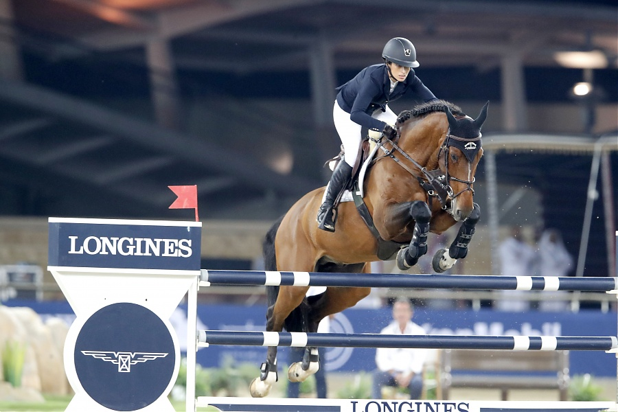 gallery of janika sprunger longines global champions tour