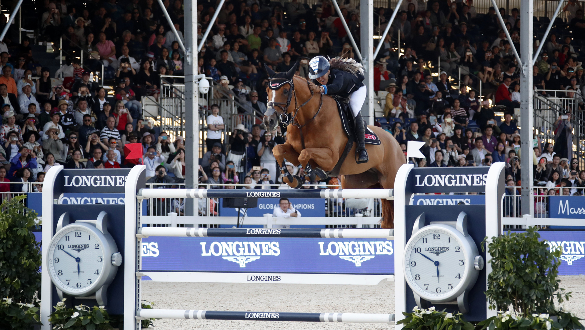 "super popular c512b b181a ""Mission Accomplished"" as Danielle Goldstein and Lizziemary Win Shanghai  LGCT Grand Prix"